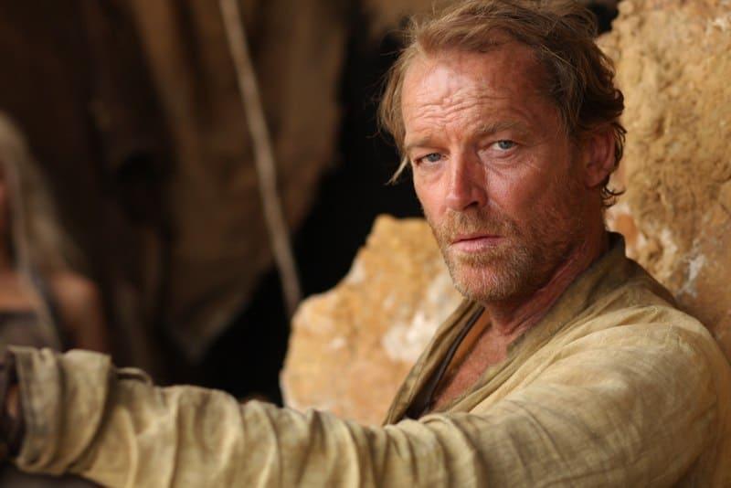 """HBO's """"Game of Thrones"""" season 2 Daenerys- Emilia Clarke Jorah- Iain Glen Doreah- Roxanne McKee Irri- Amrita Acharia Kavaro- Steven Cole Rakharo- Elyes Gabel"""